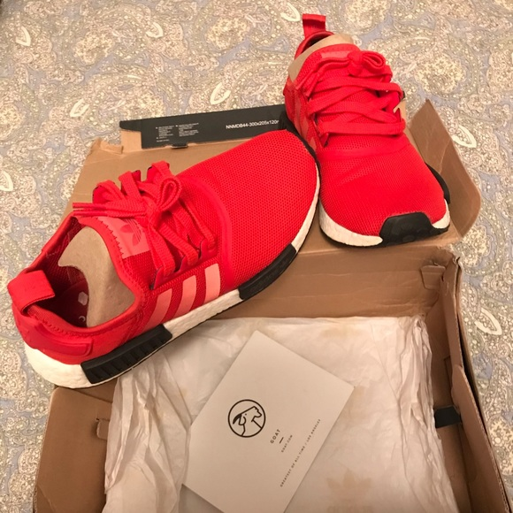 Adidas Shoes Nmd Solar Red Poshmark